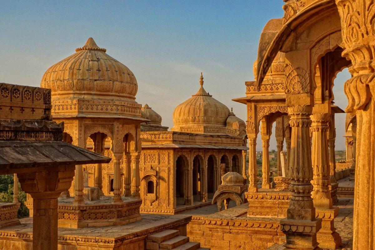 Bada Bagh Temple in Jaisalmer, India