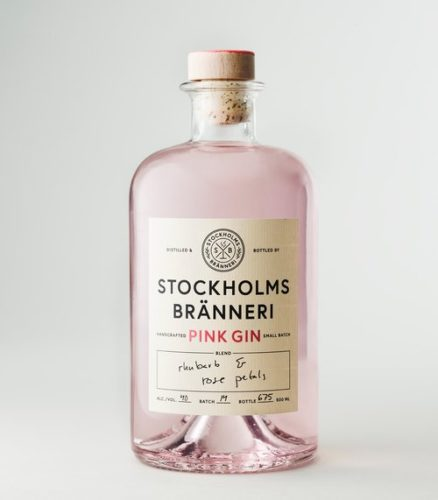 Stockholms Bränneri Pink Gin - The Taste of Swedish Summer
