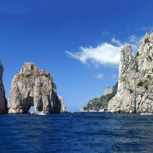 Hotel Punta Tragara, Capri - A Gin with Faraglioni' view